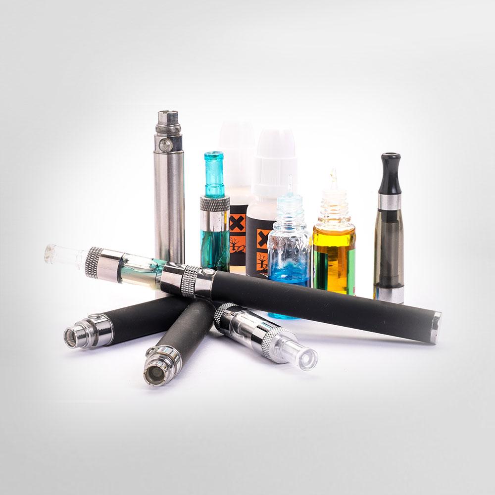 Pack complet d'e-cigarette